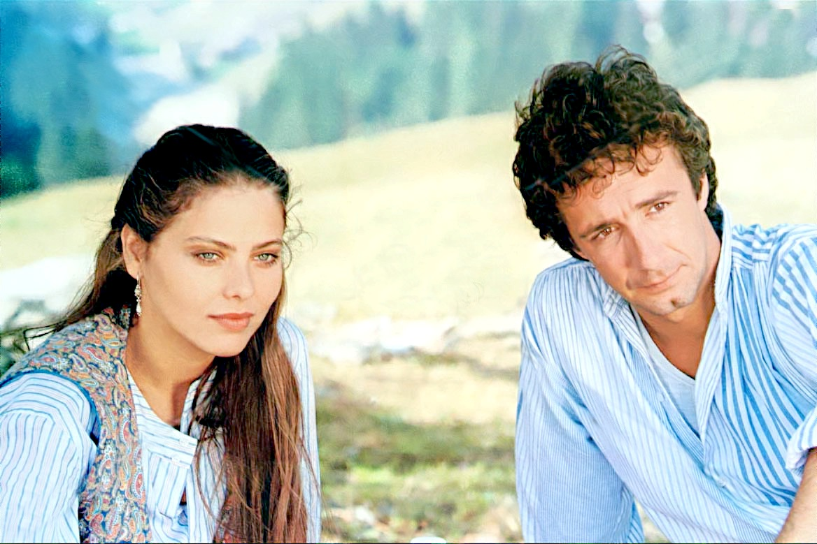 Francesco Nuti and Ornella Muti