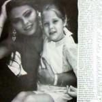 Орнелла Мути вместе с дочерью Найке