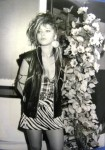 Черно-белое фото с Орнеллой Мути (1981 год)
