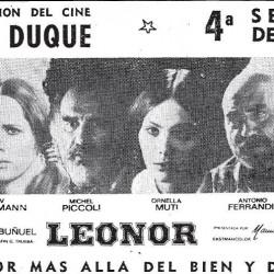 Liv Ullmann, Michel Piccoli & Ornella Muti