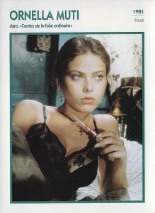 Ornella Muti 1981