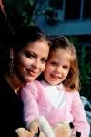 Орнелла Мути с дочерью Найке - начало 80-х