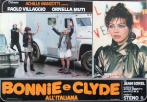 Постер с Орнеллой Мути и Паоло Вилладжио