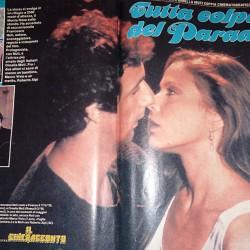 Sorrisi Canzoni TV 1985 - Поцелуй Франческо Нути и Орнеллы Мути
