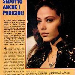 ALBO BLIZ, 1982 год - 'Ненасытная Орнелла соблазнила парижан'