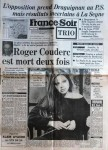 FRANCE SOIR 28-02-1984