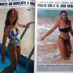 Novella 2000 - 1989 год (Орнелла Мути и её дочь Найке)