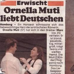 Ornella Muti, Deutschen Marc
