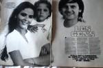Орнелла Мути, её дочь Найке и муж Федерико Факкинетти