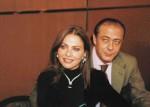 Орнелла Мути и директор ювелирного дома De Grisogono