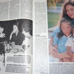 Орнелла Мути с детьми
