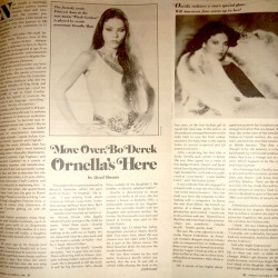 PARADE MAGAZINE 26 OCTOBER 1980