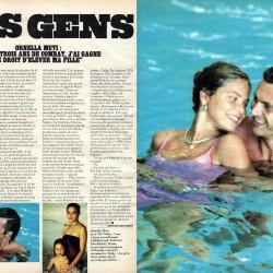 Press 1982 - Орнелла Мути вместе с мужем