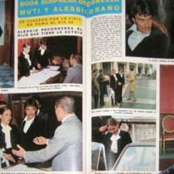 Свадьба Орнеллы Мути и Алессио Орано (1975 год)