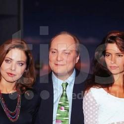 1995, Ornella Muti, Moderator Thomas Koschwitz, Sandra Speichert