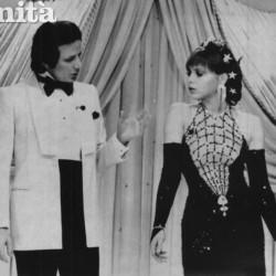 25 января 1985 год - Орнелла Мути на одной из итальянской ТВ передач