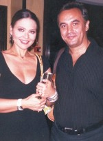 Enrique Del Pozo and Ornella Muti