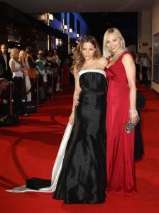 Ornella Muti and her daughter