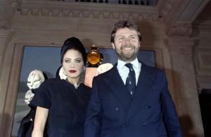 Орнелла Мути и Алан-Доминик Перрин - французский ювелир и дизайнер Cartier