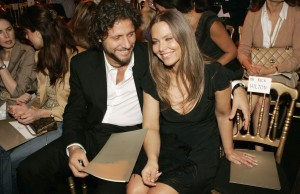 Орнелла Мути и её муж Стефано Пикколо