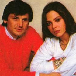 Федерико Факкинетти и Орнелла Мути - 1983 год