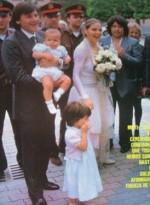 Федерико Факкинетти, Орнелла Мути и их дети Каролина и Андреа