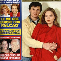 GENTE 1984 - Орнелла Мути со своим мужем Федерико Факкинетти