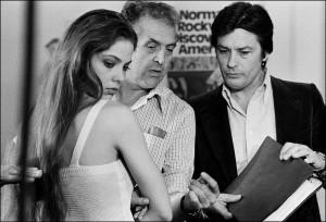 Ornella Mutti, Georges Lautner, Alain Delon