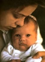 Орнелла Мути и её дочь Каролина