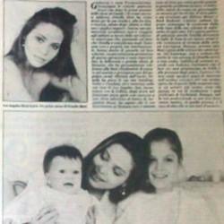 Орнелла Мути с дочерьми Найке и Каролиной