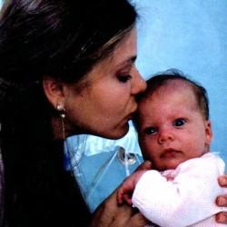 Орнелла Мути с дочерью Каролиной
