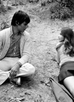 Ornella Muti with her boyfriend Alessio Orano