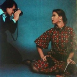 Орнеллу Мути фотографирует её муж Федерико Факиннетти