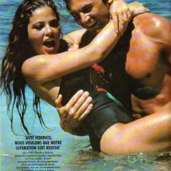 PARIS MATCH 1994 - Орнелла Мути со своим вторым мужем Федерико Факкинетти
