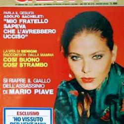 RIVISTA GENTE #9  1980