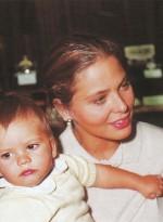 С сыном Андреа
