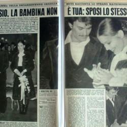Свадьба Орнеллы Мути и Алессио Орано