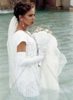 Орнелла Мути в свадебном платье