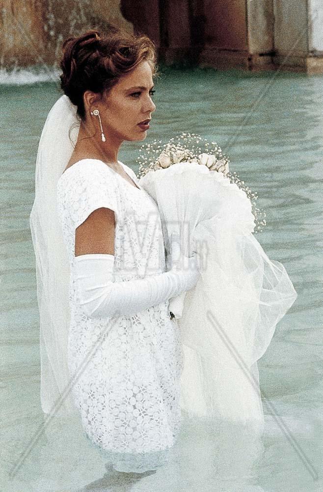 Авшара рай в свадебном платье