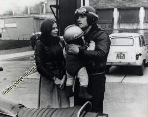 Орнелла Мути и Жерер Депардье - 1976 год