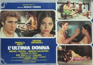 Постер с Орнеллой Мути и Жераром Депардье