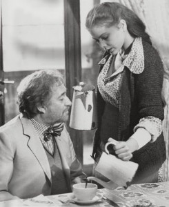 Уго Тоньяцци и Орнелла Мути - 1977 год