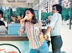 Орнелла Мути и Алессио Орано - 1973 год
