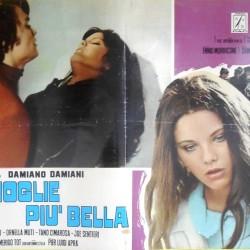 Самая красивая жена (постер с Орнеллой Мути и Алессио Орано)