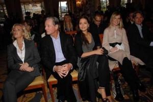 Ophelie Winter, Claude Zidi, Ornella Muti, Serena Autieri e Giulio Scarpati