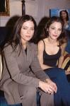 Орнелла Мути и её дочь Найке