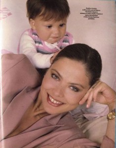 Орнелла Мути со своей дочерью Каролиной