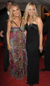 Silvana Giacobini and Ornella Muti