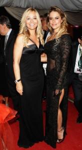 Ornella Muti and Lola Ponce