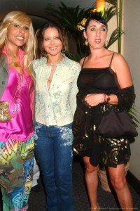 Cathy Guetta, Ornella Mutti and Rossy De Palma